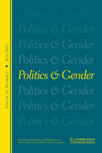 Cover of Politics and Gender