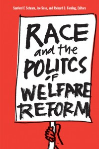Cover of Race and the Politics of Welfare Reform